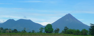 Cerro Chat and Arenal Volcano